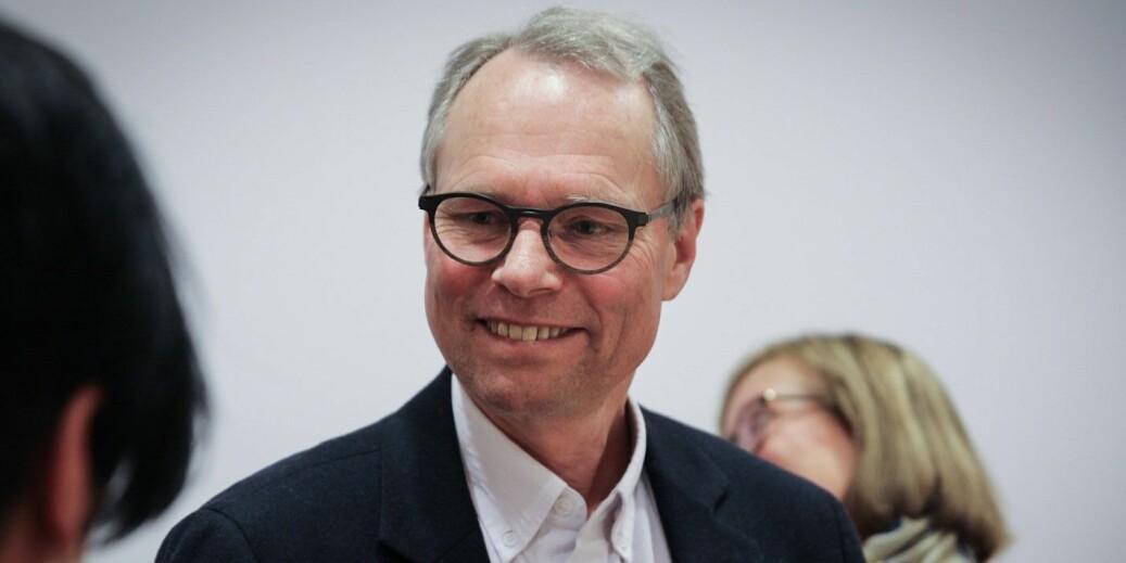 Jussprofessor Hans Petter Graver vil bli preses ved Det Norske Videnskaps-akademi. Foto: Siri Øverland Eriksen