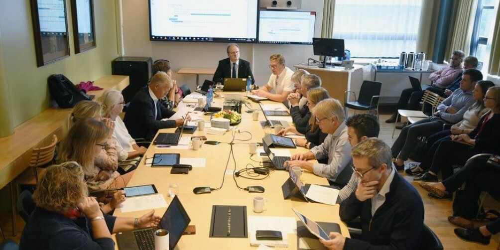 Styremøtet ved Universitetet i Agder vedtok med 6 mot 5 stemmer å fortsette med valgt rektor. Foto: UiA