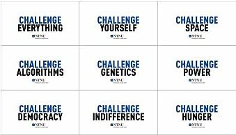 Noen av «Challenge»-variantene. Foto: NTNU