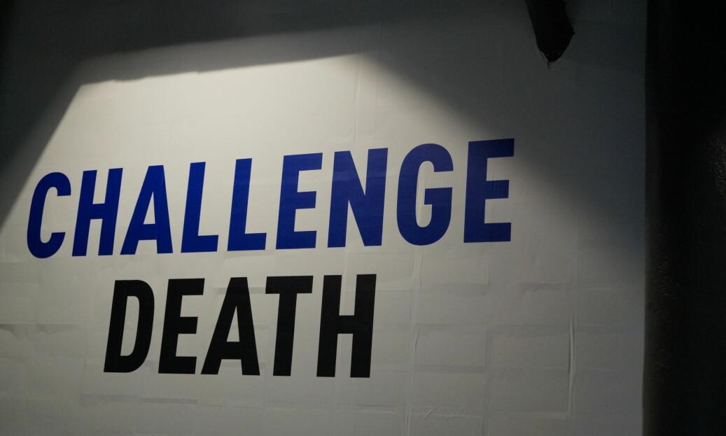 Ett av over 100 ulike budskap i den såkalte «challenge»-kampanjen. Foto: Brage Lie Jor