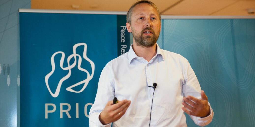 Henrik Urdal er direktør ved Institutt for fredsforskning (PRIO). Foto: PRIO