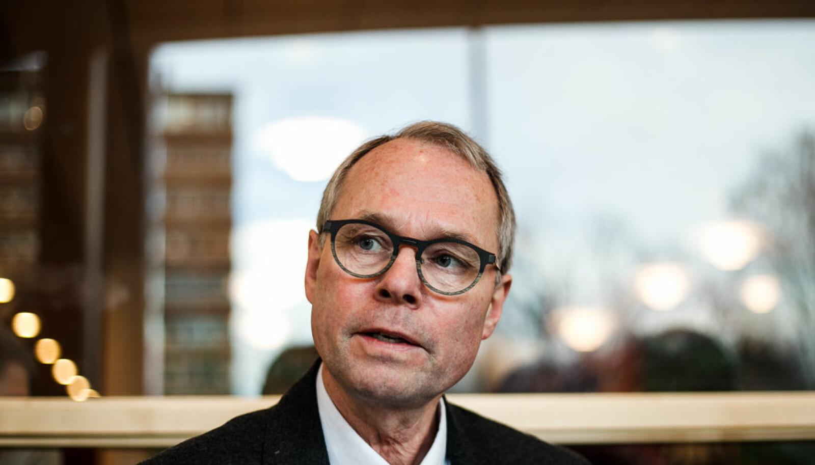 Det var en EØS-skandale, ikke en trygdeskandale, mener Hans Petter Graver. Foto: Nicklas Knudsen