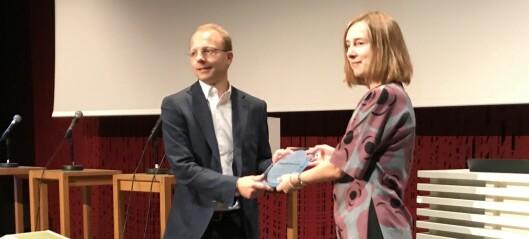 Formidlingspris til klimaforsker