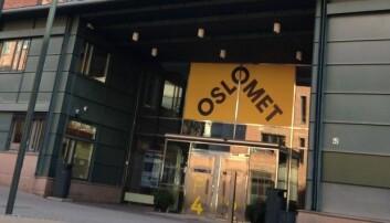 SSB anslår at OsloMet kan få 25 000 studenter. Da trenger vi arealer.