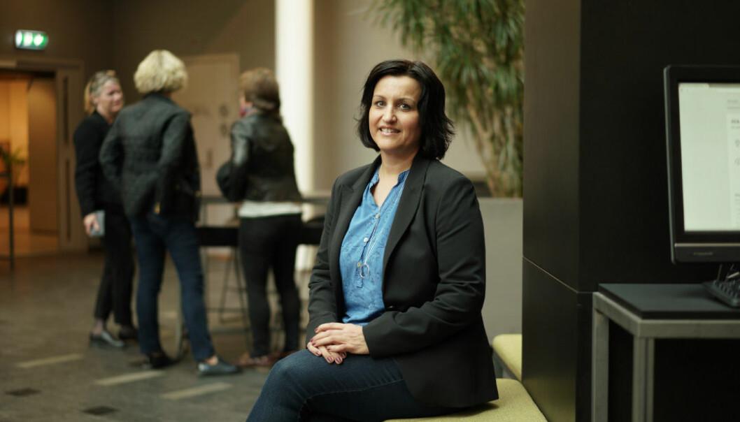 Marit Martinsen Dahle, NTL, har sammen med tre andre fagforeninger sendt brev til ledelsen ved UiT og bedt om endret praksis for utlegg ved reiser. Foto: Ketil Blom Haugstulen