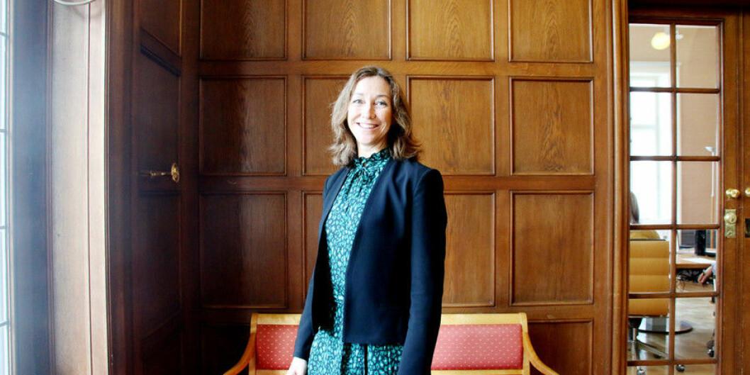 Administrerende direktør i Norce, Elisabeth Maråk Stølen. Foto: Njord V. Svendsen