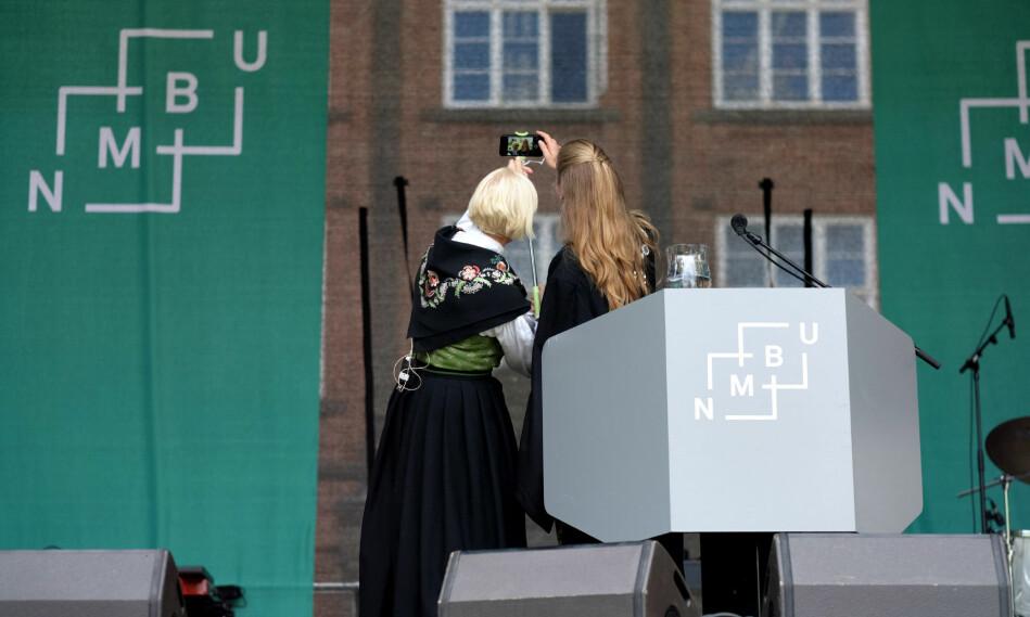 Ragnar A. Øygard er førsteamanuensis ved NMBU. Her fra studiestart på universitetet i 2017. Foto: Ketil Blom Haugstulen