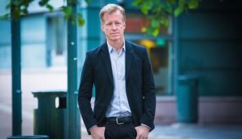 Curt Rice vil ha flere alternative stiger til ett felles toppnivå; professor. Foto: Siri Øverland Eriksen
