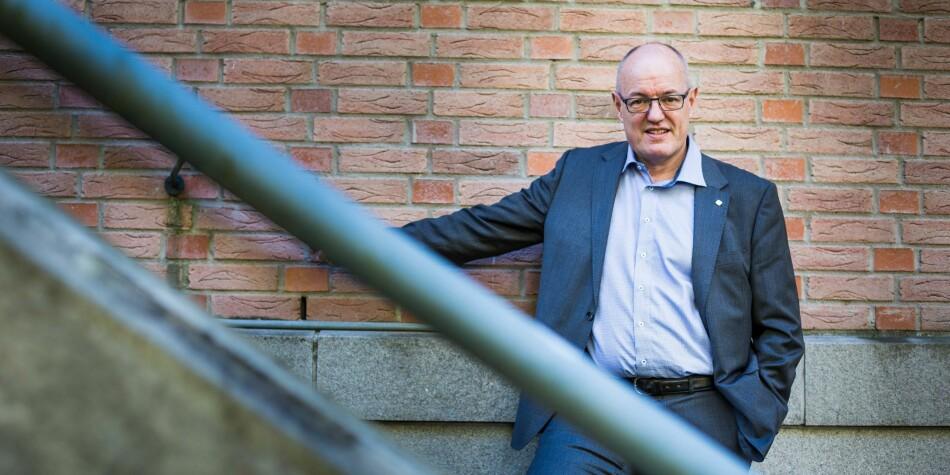 Kunnskapsdepartementet trapper opp lønna til NTNU-rektor Gunnar Bovim med 48.200 kroner i år. Foto:Siri Øverland Eriksen