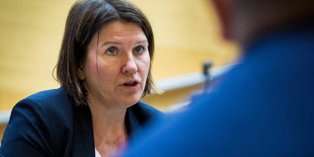 Leder for Akademikerne, Kari Sollien, savner etter- og videreutdanning i langtidsplanen som vedtas i Stortinget tirsdag. Foto: Siri Øverland Eriksen