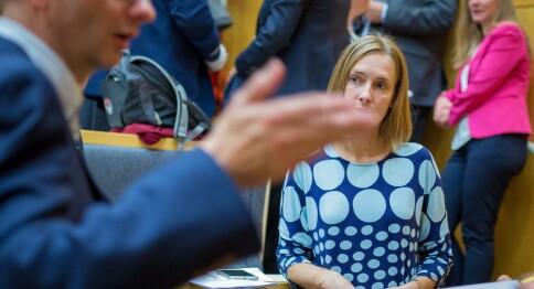 Nybø: Vi satser på utdanning, Waaler