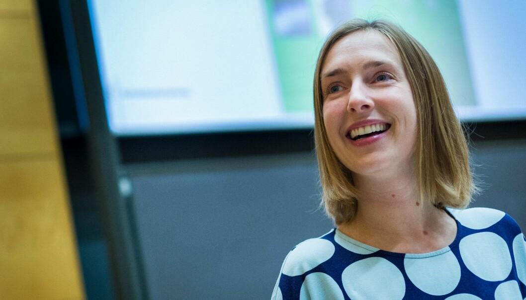 Regjeringen har mål om å redusere midlertidigheten i UH-sektoren ytterligere, skriver statsråd Iselin Nybø. Foto: Siri Øverland Eriksen