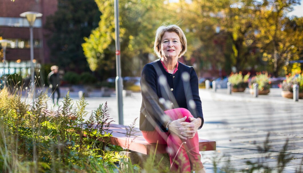 Anne Husebekk, rektor UiT Norges arktiske universitet. Foto: Siri Øverland Eriksen