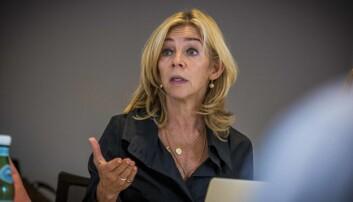 Prorektor for utdanning, Nina Waaler. Foto: Siri Ø. Eriksen