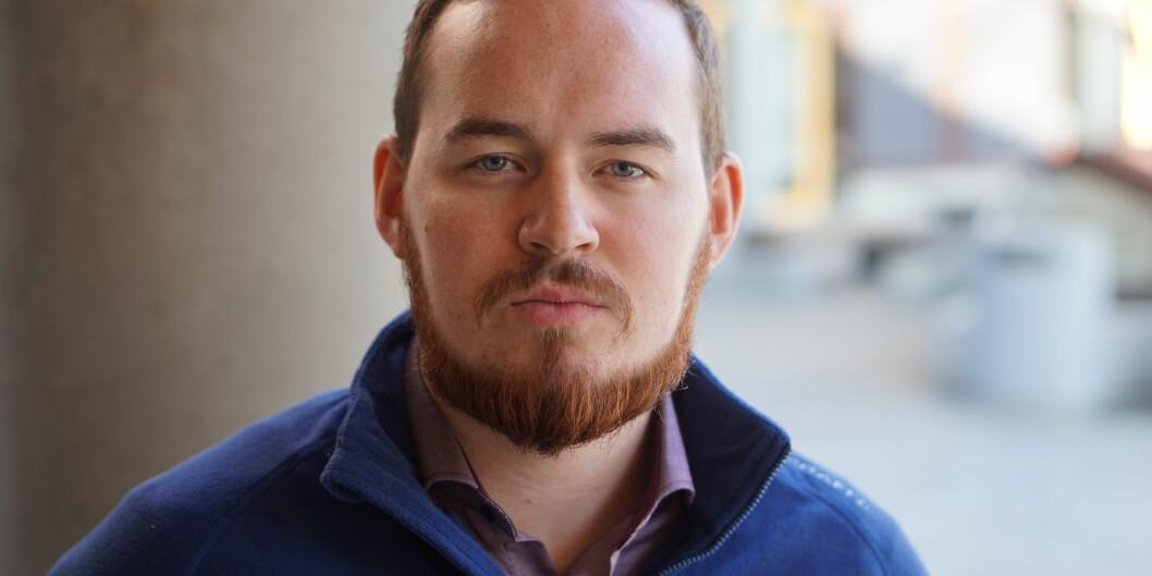 Studentleder ved UiT Norges arktiske universitet, Daniel Hansen Masvik. Foto: Privat
