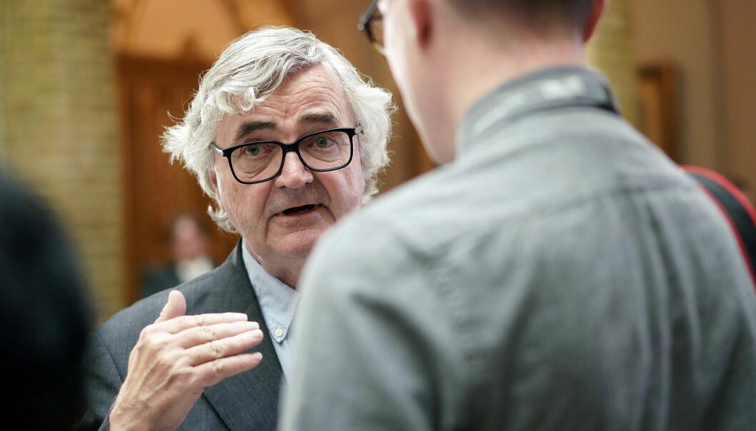 Petter Aaslestad, leder i Forskerforbundet. Foto: Ketil Blom Haugstulen