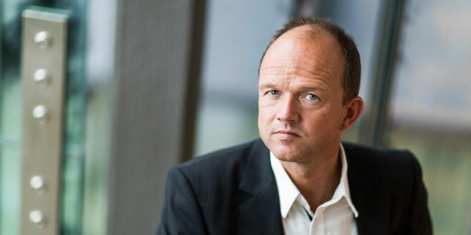 NHO-sjef Ole Erik Almlid mener at samarbeidet mellom bedriftene og akademia må bli tettere. Foto: NHO