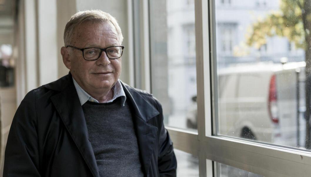 Jostein Gripsrud mener Terje Tvedt kritiserer ham på feilaktig grunnlag. Foto: Hilde Kristin Strand