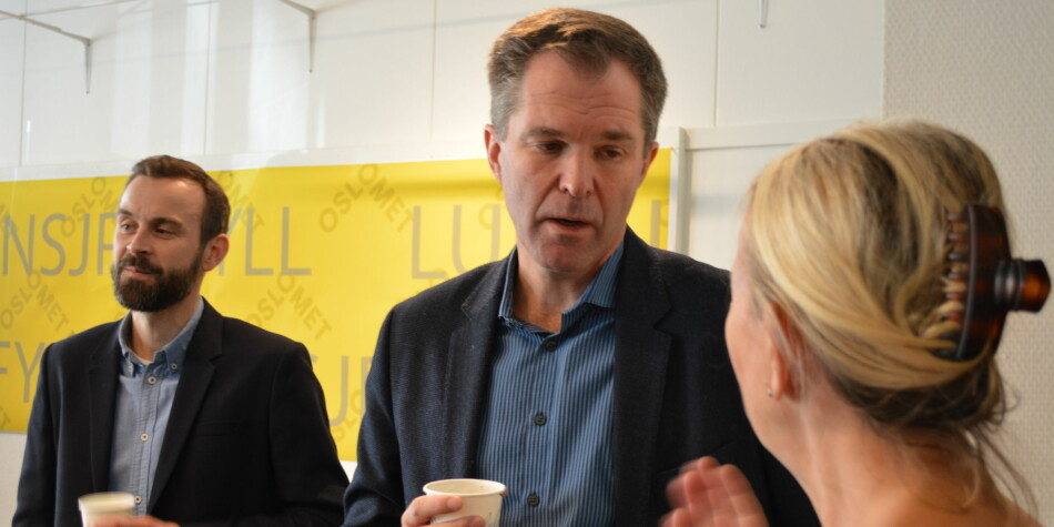 På sikt så kommer nivådelingen mellom tidsskrift til å bli borte, tror John-Arne Røttingen, adm.dir. i Forskningsrådet. Foto: Nils Martin Silvola