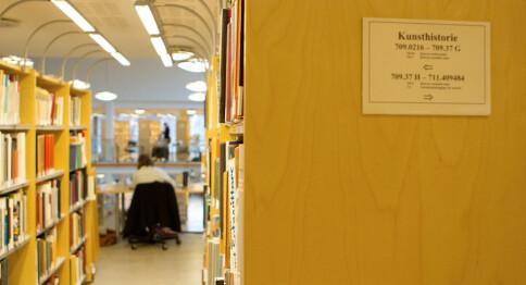 Forskarane publiserer 90 prosent på engelsk - no droppar også humanistane norsk