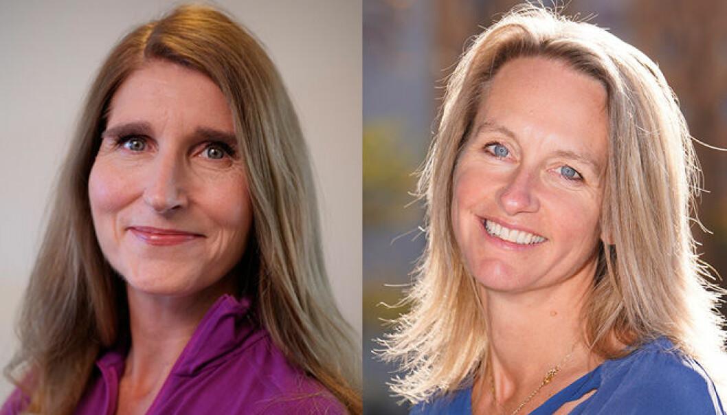 Kristile Skorge og Berit Kolberg Rossiné er nye duirektører på Universitetet i Oslo (UiO). Fotomontasje: UiO