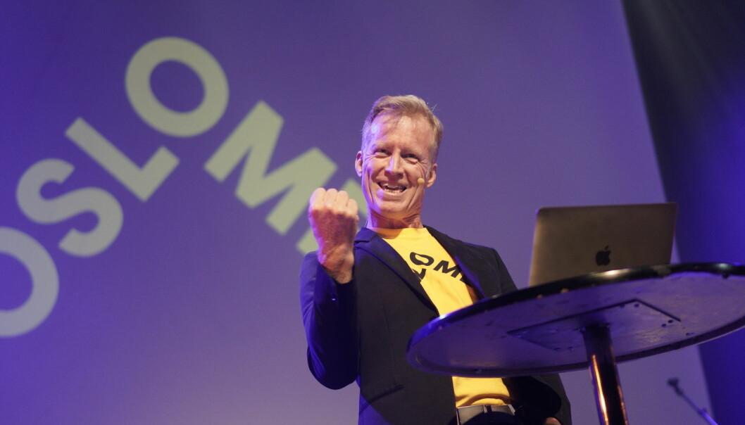 Curt Rice er ansatt som OsloMet-rektor for fire nye år, men avgjørelsen i universitetsstyret var ikke enstemmig. Foto: Ketil Blom Haugstulen
