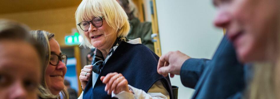 Berit Rokne, rektor ved Høgskulen på Vestlandet skal også redusere reservene i regnskapene i år. Foto: Siri Øverland Eriksen