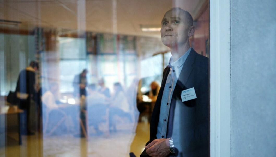 Styret ved Høgskolen i Molde har vedtatt å fortsette med valgt rektor fram til 2023. Her dagens valgte rektor, Steinar Kristoffersen. Foto: Ketil Blom Haugstulen
