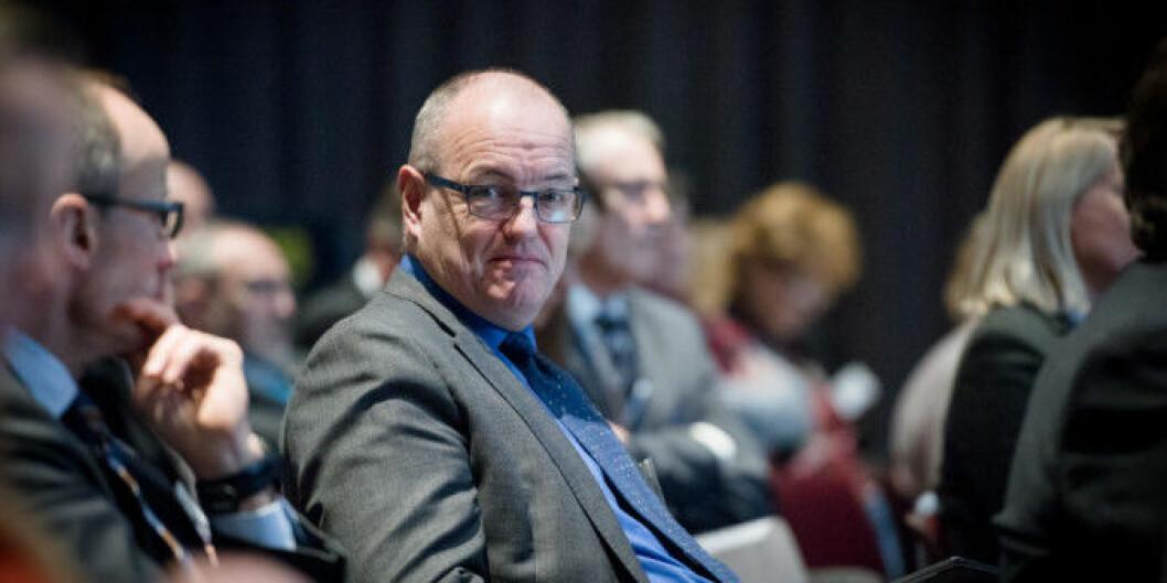 NTNU-rektor Gunnar Bovim er ikke imot at saken om de interne psykologklinikkene ved NTNU skal ut på høring, men venter på svar fra Kunnskapsdepartementet først.Foto: Skjalg Bøhmer Vold