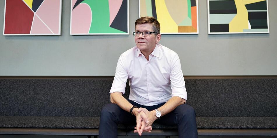 Tirsdag 30. oktober åpner UiO-rektor Svein Stølen Humanioradagene 2018. Foto: Ketil Blom Haugstulen