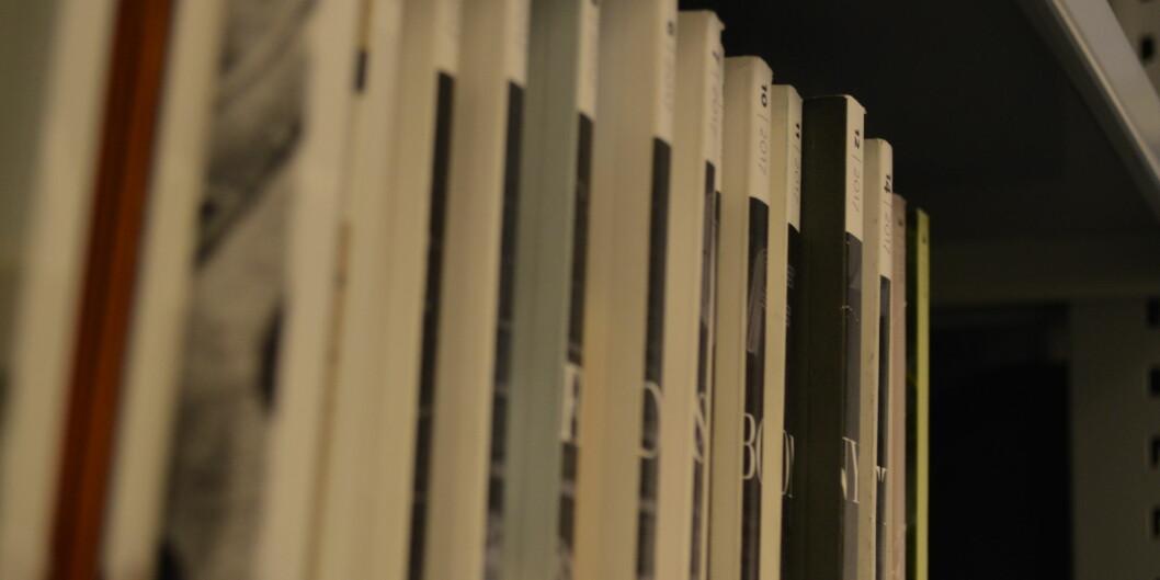 Tore Wig mener at kritikken av det som kalles tidsskriftshierarkiet er av lv kvalitet. Foto: Nils Martin Silvola