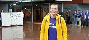 Tillitsvalgt for psykologistudentene på NTNU: Ida Maria Brennhaugen