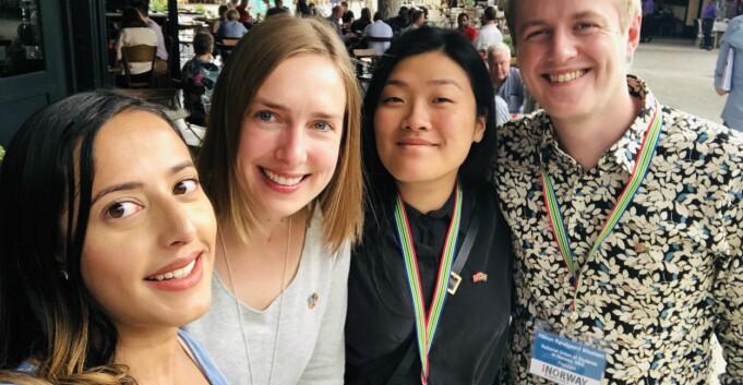 Nybø møtte fredsprisvinner