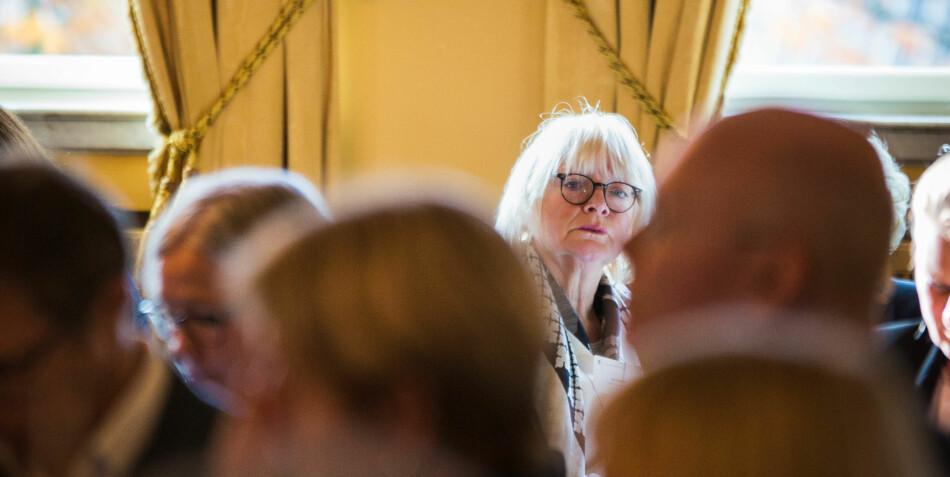 — Vi opplever det slik at flertallet er for fusjon, men at man er delvis kritiske til hvordan man har gjennomført fusjonen, sier rektor Berit Rokne ved Høgskulen på Vestlandet. Foto: Siri Øverland Eriksen