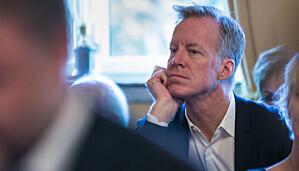 Curt Rice, rektor ved OsloMet. Foto: Siri Øverland Eriksen