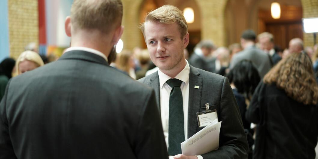 Håkon Randgaard Mikalsen, leder i NSO. Foto: Ketil Blom Haugstulen