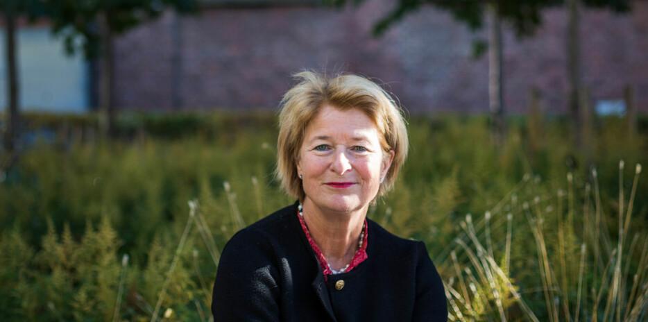 08.10.2018 Stasbudsjettet ble lagt frem. Statsråd Iselin Nybø