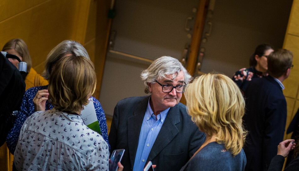 Petter Aaslestad og Forskerforbundet har mange meninger om instituttsektoren. Foto: Siri Øverland Eriksen