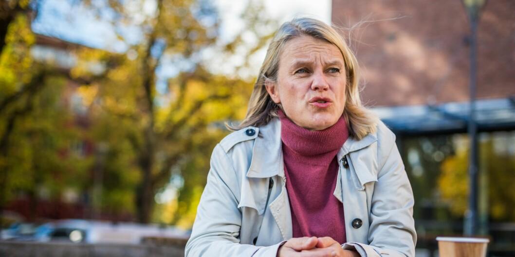 Nina Sandberg, Arbeiderpartiet. Foto: Siri Øverland Eriksen