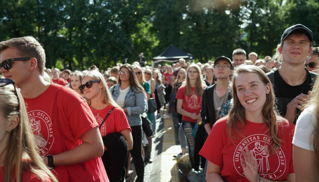 Fortsatt mange studenter fra Universitetet i Oslo og Unviersitetet i Bergen som søker seg til Storbritannia. Foto: Ketil Blom Haugstulen
