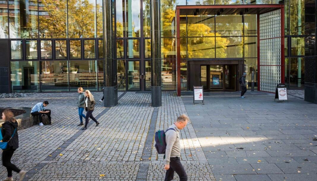 Alle arrangementer avlyses ved Universitetet i Oslo.