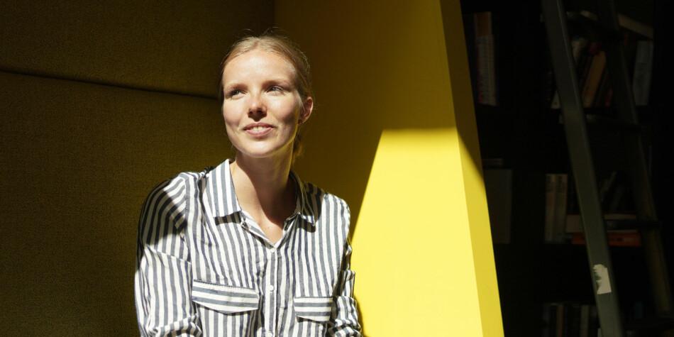 Motivasjonen er på topp, sier lederkandidat til Norsk Studentorganisasjon, Susann A. Biseth-Michelsen. Foto: Ketil Blom Haugstulen
