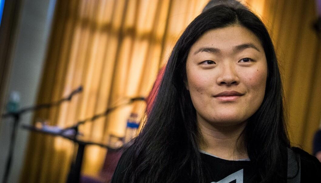 Hanna Flood, leder av ANSA, mener norske utdannignsinstitusjoner må være tydeligere på hva som skal til for å få godkjent utenlandsk helseutdanning i Norge. Foto: Siri Øverland Eriksen