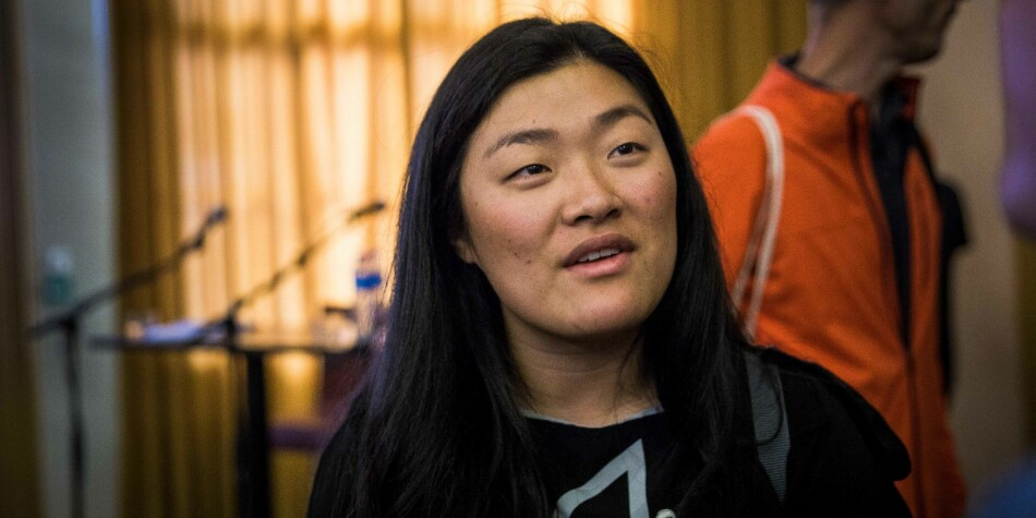 Hanna Flood, president i ANSA, meiner regjeringa må ta grep for å få fleire til å reise utanlands for å studere. Foto: Siri Øverland Eriksen