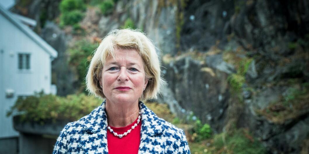 Anne Husebekk, rektor ved UiT Norges arktiske universitet, er en av gründerne bak selskapet som har utviklet legemiddelet som kan hindre en sjelden blødersykdom hos nyfødte. Foto: Siri Øverland Eriksen