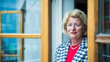 Rektor Anne Husebekk ved UiT Norges arktiske universitet. Foto: Siri Øverland Eriksen