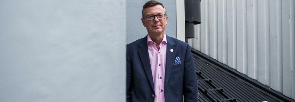 Dag Rune Olsen, rektor Universitetet i Bergen. Foto: Siri Øverland Eriksen