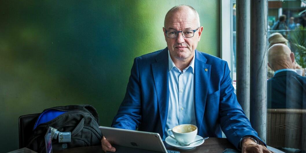 Rektor Gunnar Bovim på NTNU mener poengene fra Equinor kan gi resultater som vil sette spor for framtiden. Foto: Siri Øverland Eriksen