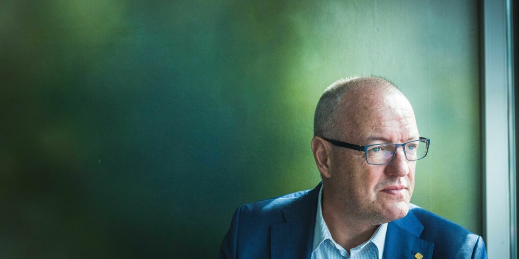 Rektor på NTNU, Gunnar Bovim. Foto Siri Øverland Eriksen