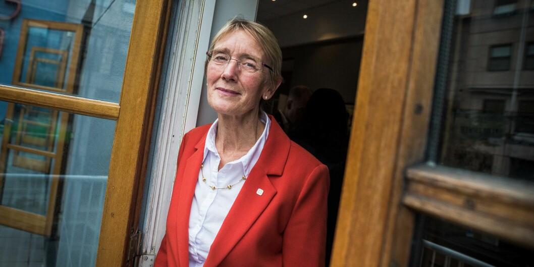 Anne Borg, prorektor ved NTNU blir onsdag konstituert som rektor ved universitetet. Internt har hun god standing. Foto: Siri Øverland Eriksen